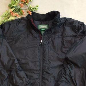 LL Bean Ski Jacket XXL Primaloft Black